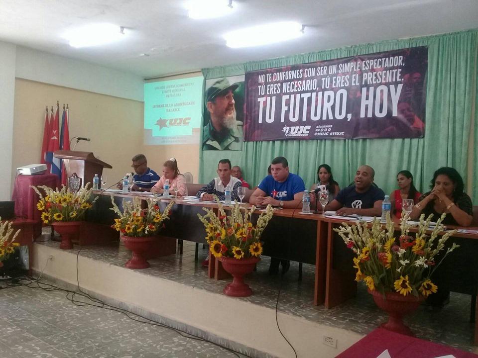 Marcha satisfactoriamente proceso asambleario XI Congreso de la UJC