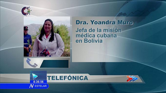 Colaboradores cubanos en Bolivia están seguros (+video)