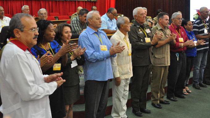 Realizan V conferencia provincial de la Asociación de Combatientes