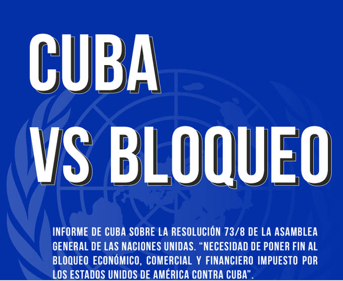 Reclamo contra el bloqueo de EE.UU. a Cuba vuelve a sentirse en ONU