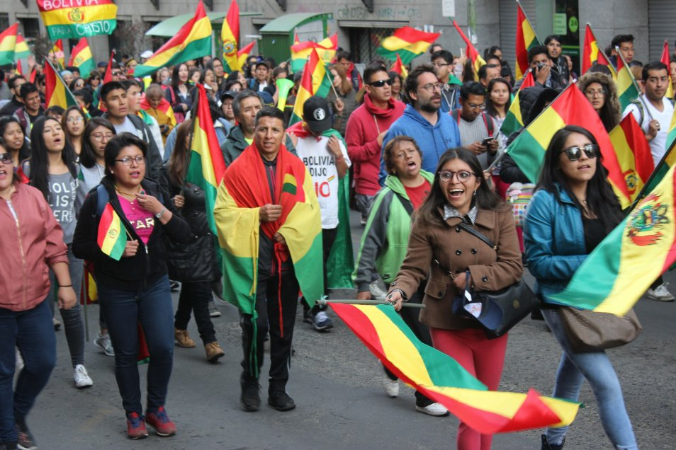 Ocupación de instituciones marca nueva fase de golpe en Bolivia