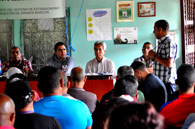 Destacan impactos en cultivo de granos en Granma