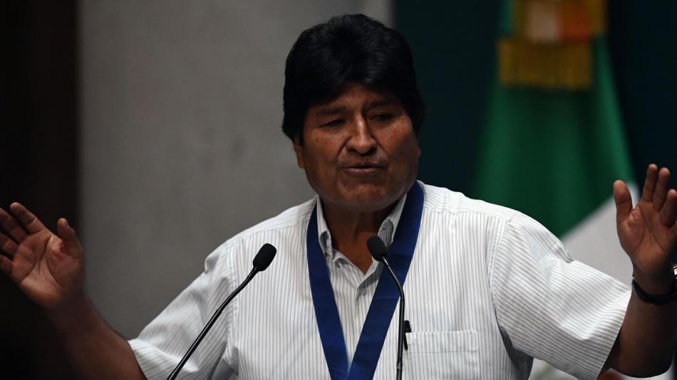 Evo Morales pide diálogo en Bolivia con respaldo internacional