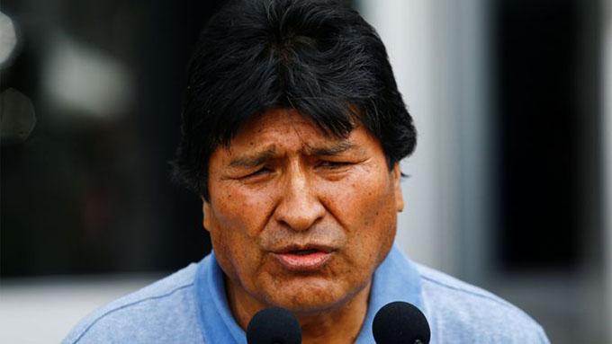 Evo Morales afirma en México que seguirá la lucha (+video)