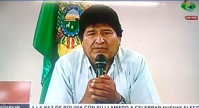 Renuncia el presidente boliviano Evo Morales (+ videos)