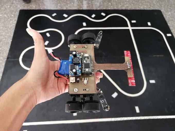 Palmiche: un robot cubano en competencia