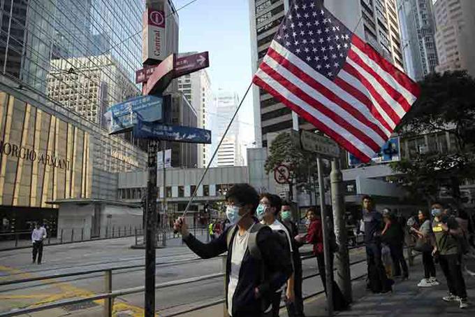 EE.UU. y la ley sobre Hong Kong, otro acto injerencista de Washington
