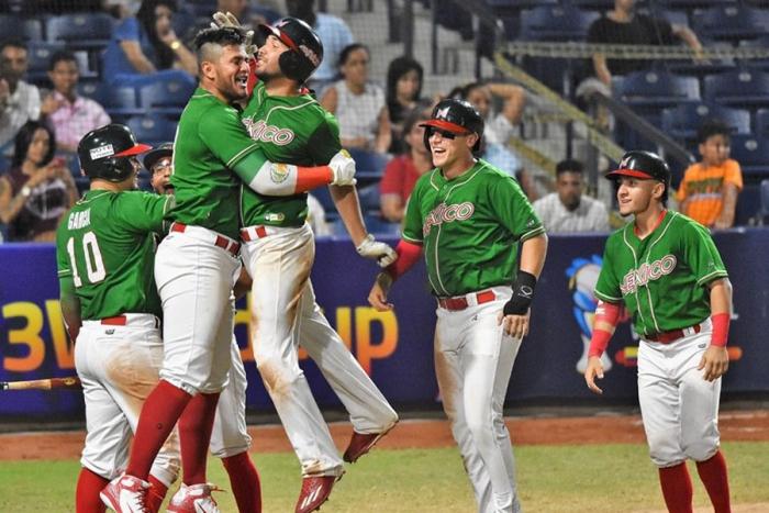 México primer clasificado a ronda final del Premier 12 de béisbol