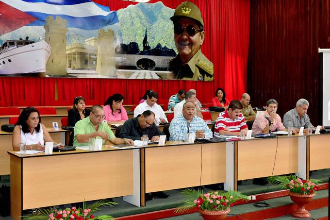Sesionará Pleno del Comité provincial del Partido