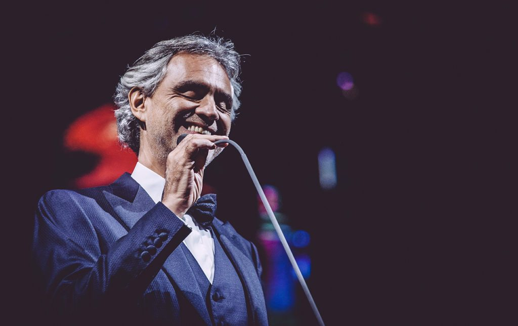 Tenor italiano Andrea Bocelli cantará en diciembre a La Habana