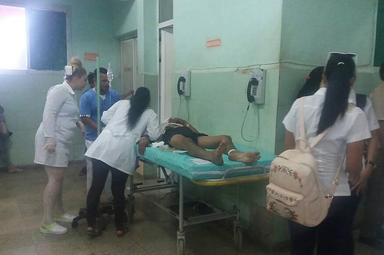 Dos muertos y 11 heridos en accidente de tránsito en Cuba