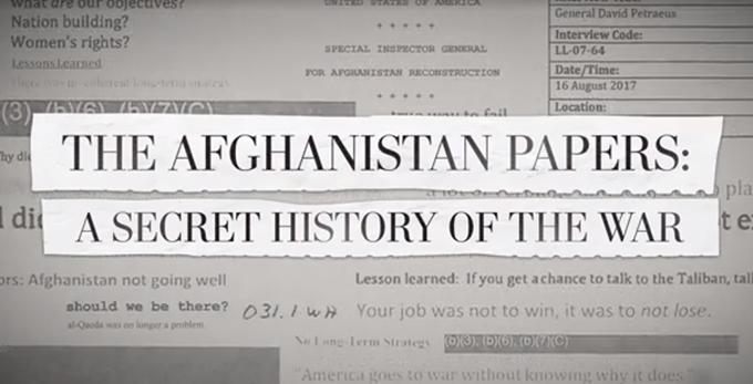 Revelan acciones de funcionarios de EE.UU. sobre guerra en Afganistán