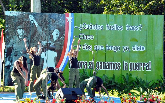 Pioneros de Granma caminarán hasta Cinco Palmas