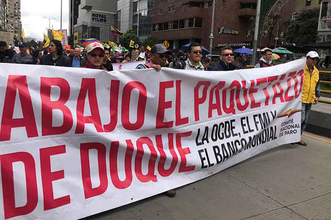 Otro paro nacional en Colombia en demanda de reformas profundas