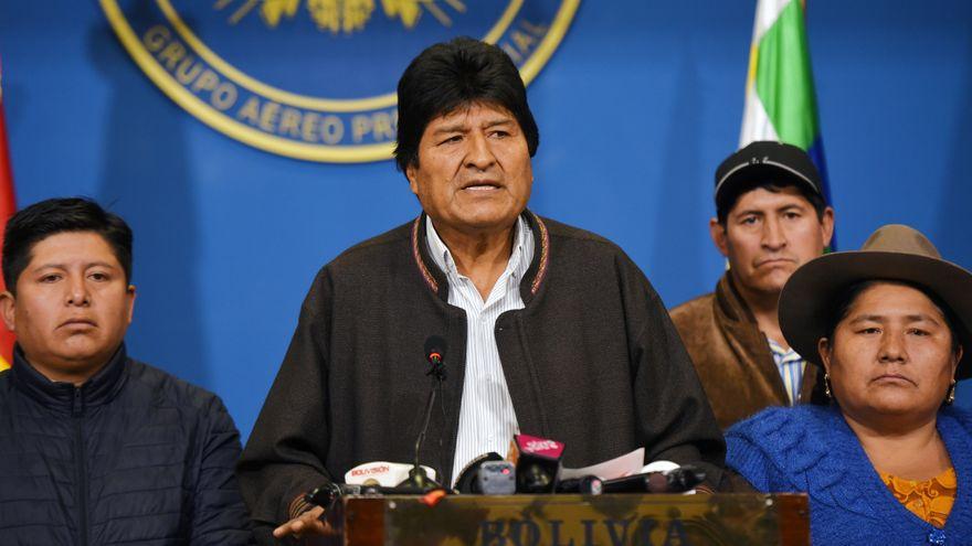 Desde Argentina, Evo Morales teje campaña del MAS de cara a elección