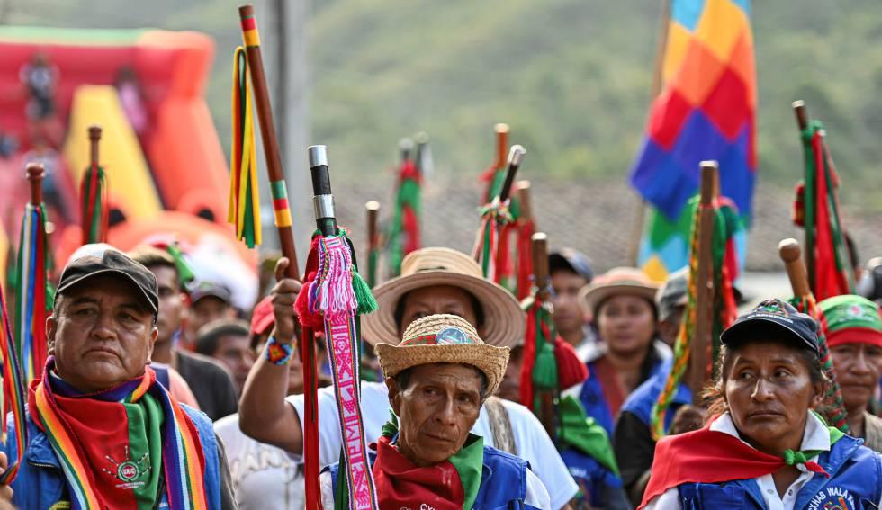 Indígenas en Colombia fortalecerán la movilización