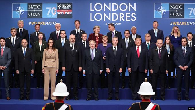 OTAN cierra en Londres una cumbre llena de tensiones