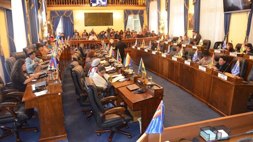 Sesión plenaria del Legislativo de Bolivia elegirá a nuevos vocales