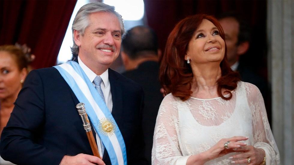 Argentina: Alberto y Cristina Fernández juran en sus cargos (+ video)