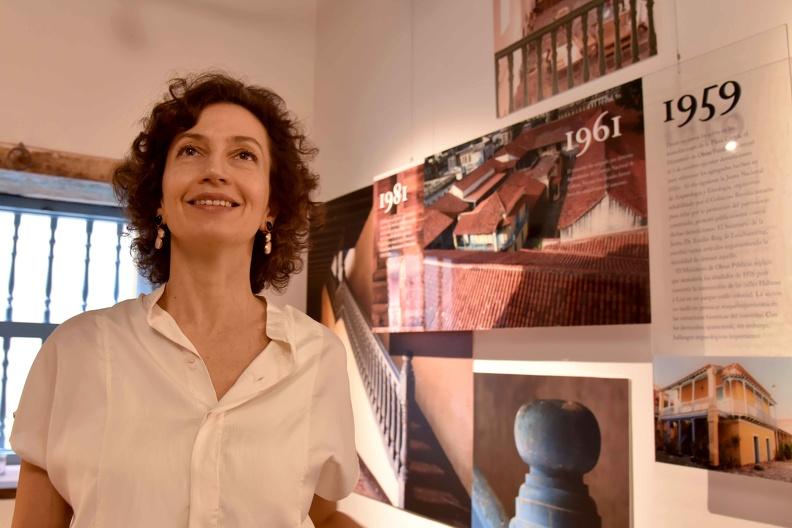 La directora de la Unesco hoy: entre la naturaleza y el arte