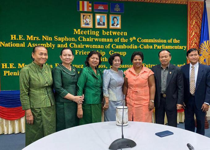 Reitera Cambodia rechazo al bloqueo de EE.UU. contra Cuba