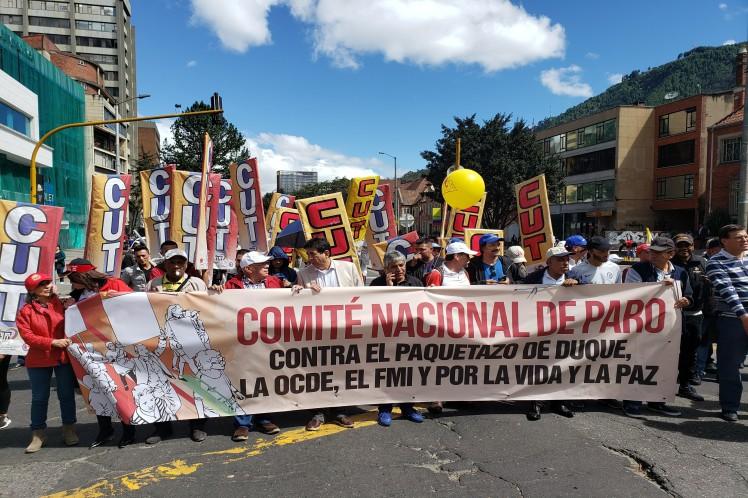 El descontento social se toma las calles de Colombia