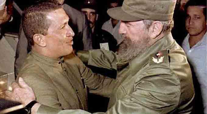 Recuerda Díaz-Canel encuentro entre Fidel y Chávez en Cuba (+video)