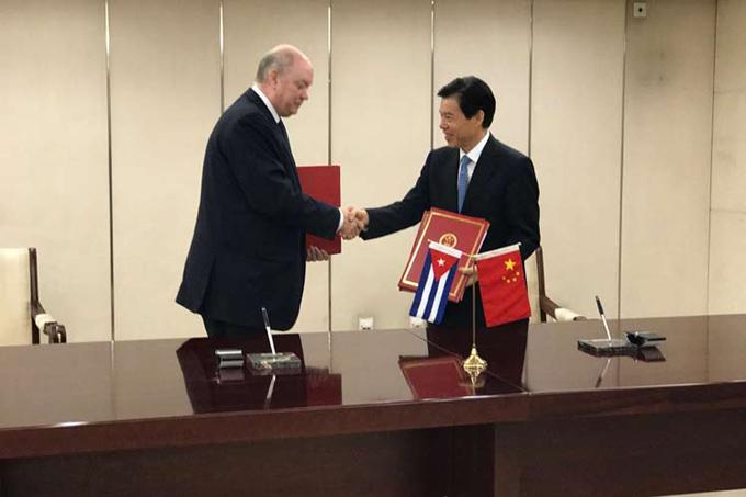 Autoridades de Cuba y China ratifican excelente estado de vínculos