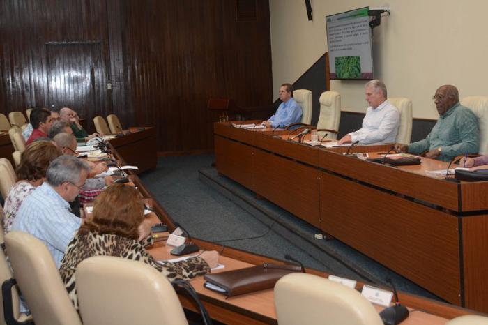 Presidente cubano chequea acciones para incrementar producción de alimentos y ofertas