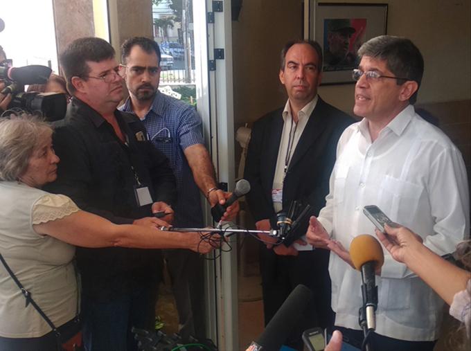 Fernández de Cossío: Cuba no desea la ruptura de relaciones con Estados Unidos