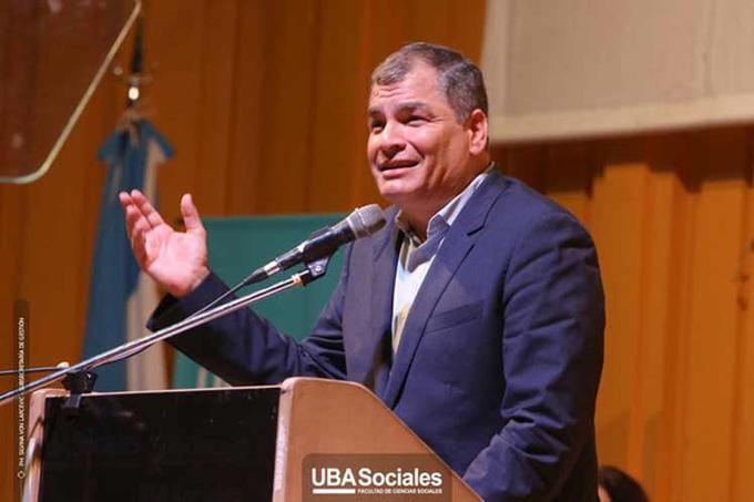 Rafael Correa confía en que Alberto Fernández levantará a Argentina