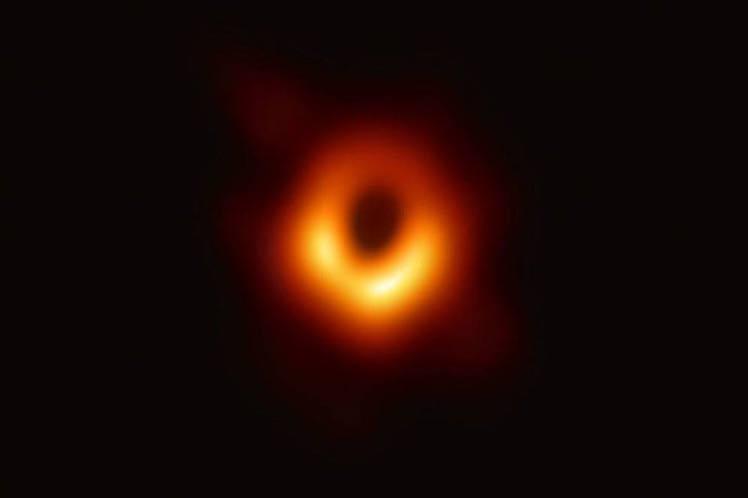 Imagen de un agujero negro, entre los mejores descubrimientos de 2019