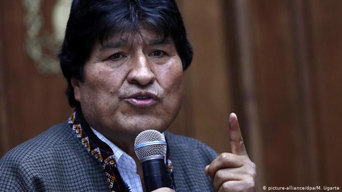 Evo Morales reafirma lucha por una Bolivia libre para los jóvenes