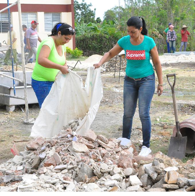 Construyen círculo infantil en Campechuela (+ fotos)