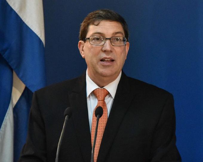 Denuncia canciller de Cuba endurecimiento del bloqueo de EE.UU.