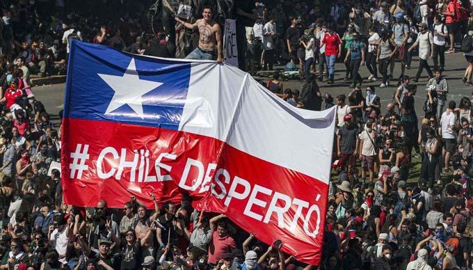 Chile en su peor crisis desde la dictadura