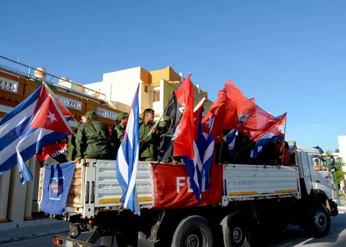 Rememoran aniversario 61 de la Caravana de la Libertad