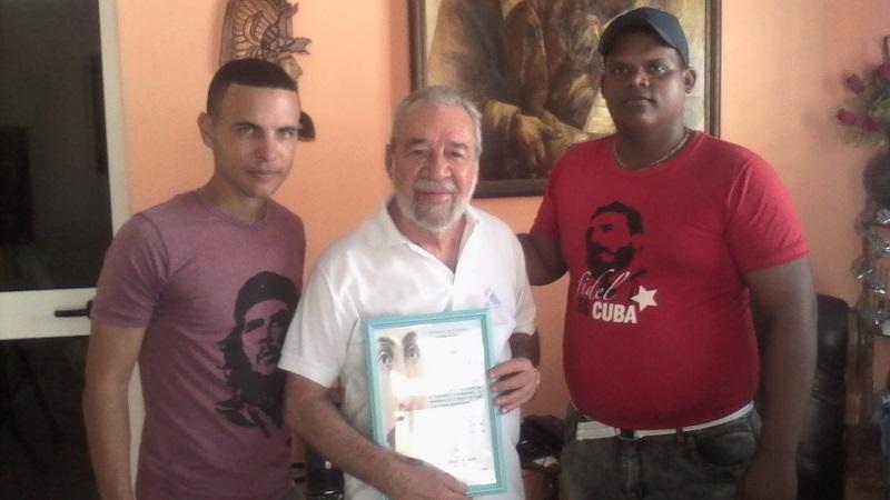 Confieren a Pachy Naranjo premio de movimiento martiano de Cuba