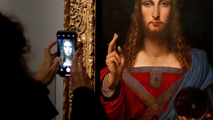 Revelan el misterio del cuadro 'Salvator Mundi' de Leonardo da Vinci