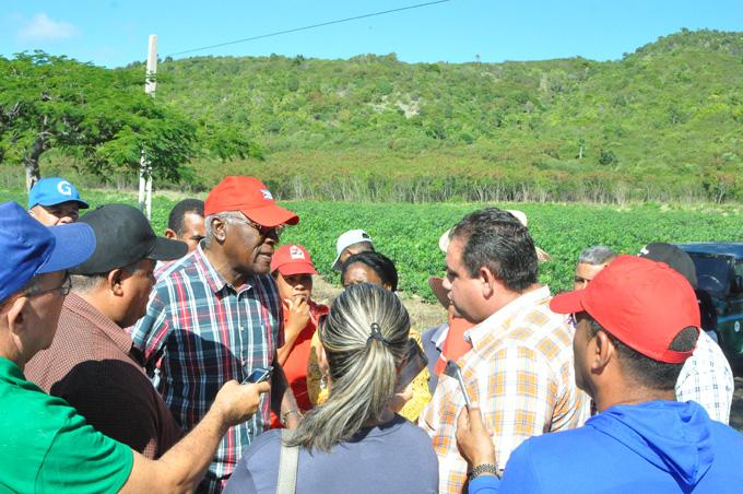 Vicepresidente de la República visita polo productivo en Pilón