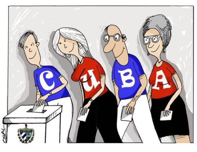 Ratifican delegados yarenses otro sí por Cuba (+fotos)