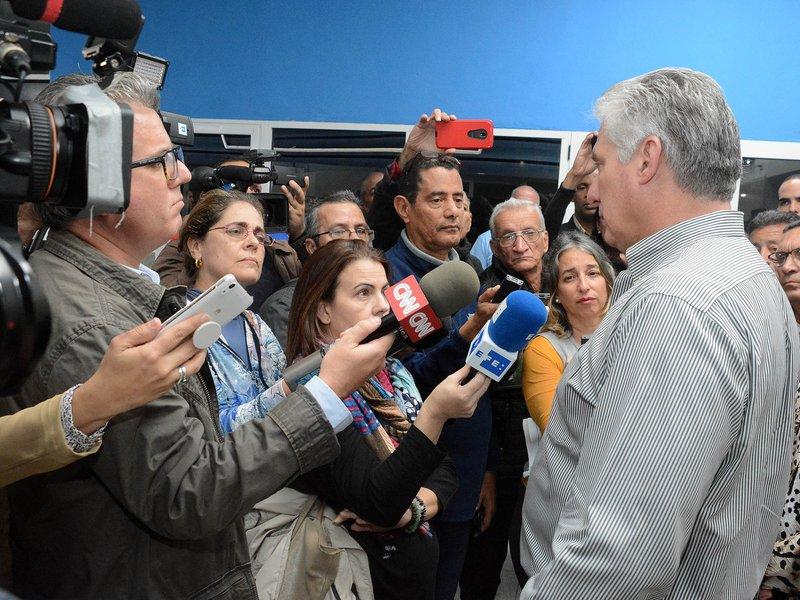 Afirma Díaz-Canel que Cuba está preparada para momentos difíciles (+ video)