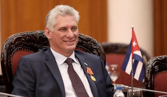 Felicita Díaz-Canel a elegidos como Gobernadores y Vicegobernadores