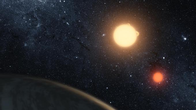 'Un mundo con dos estrellas': un adolescente descubre un inusual planeta mientras hace prácticas en la NASA