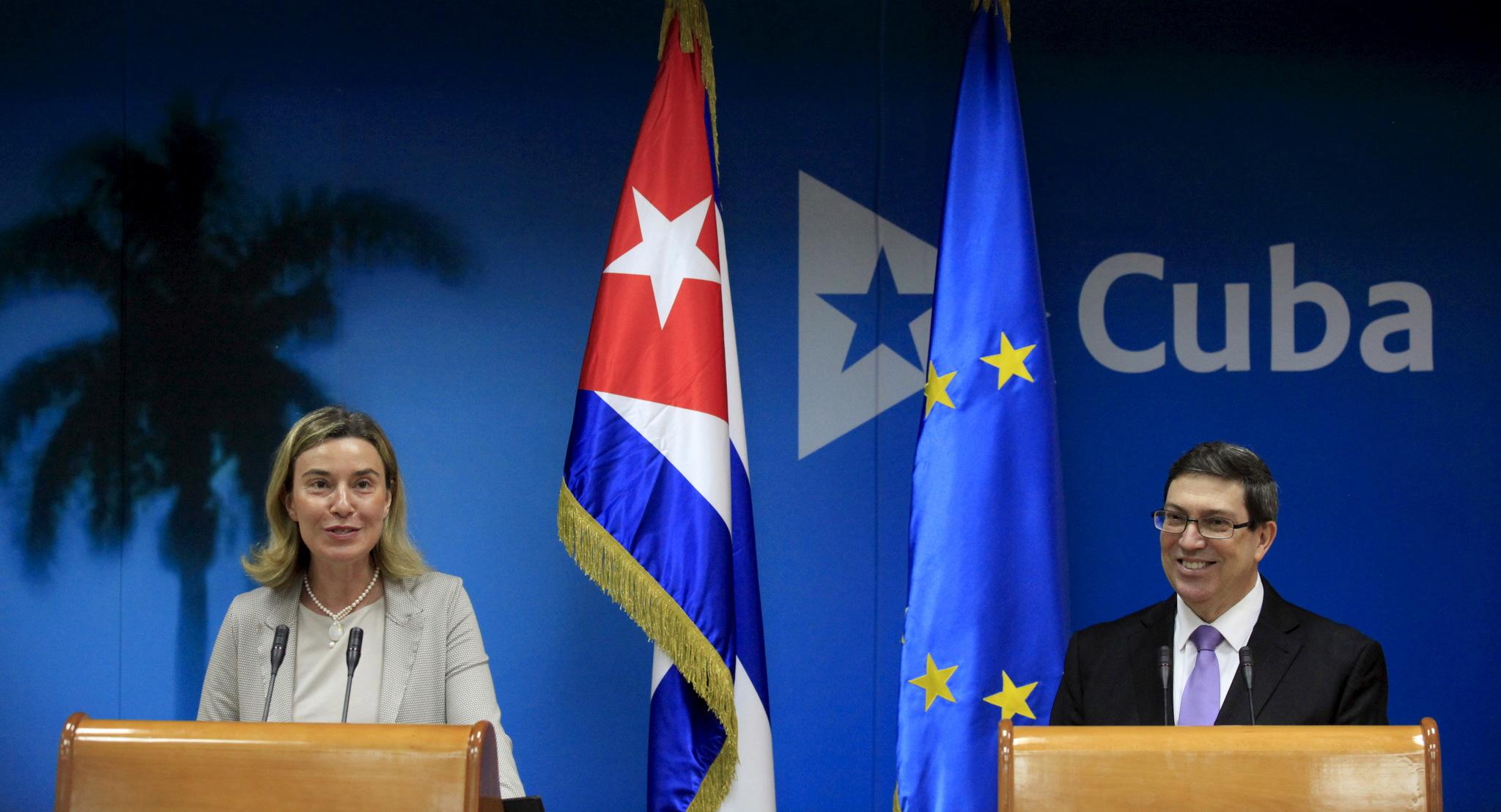 Califica canciller de Cuba de positivas relaciones con UE