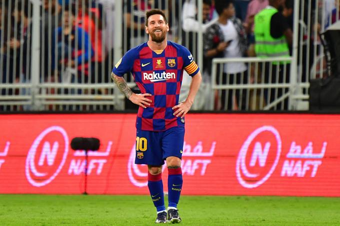 Messi nominado a los Premios Laureus por sexta vez
