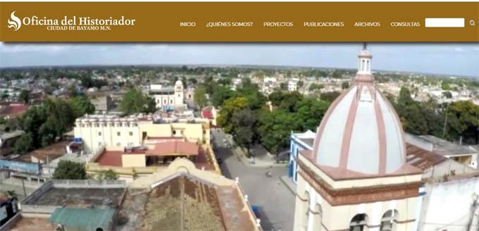 Disponible sitio web de la oficina del Historiador de Bayamo
