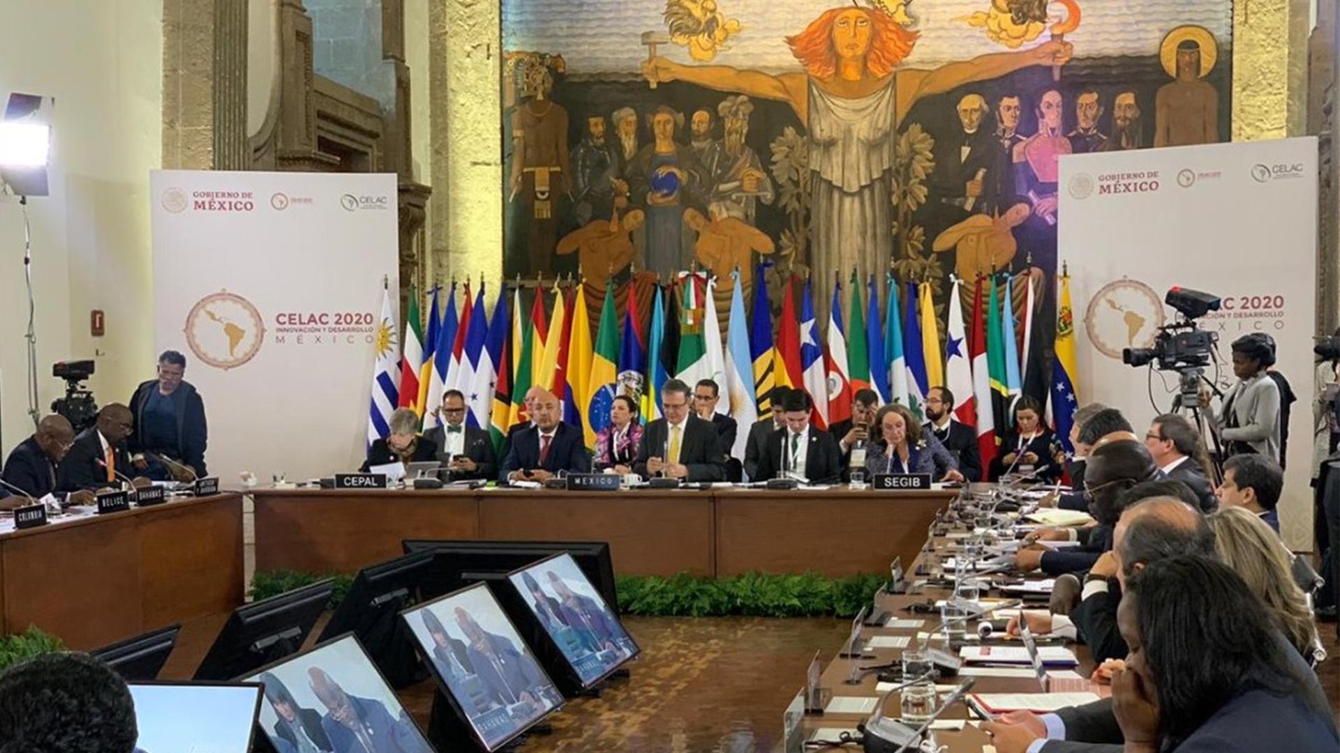 Asume México Presidencia Pro Témpore de la CELAC