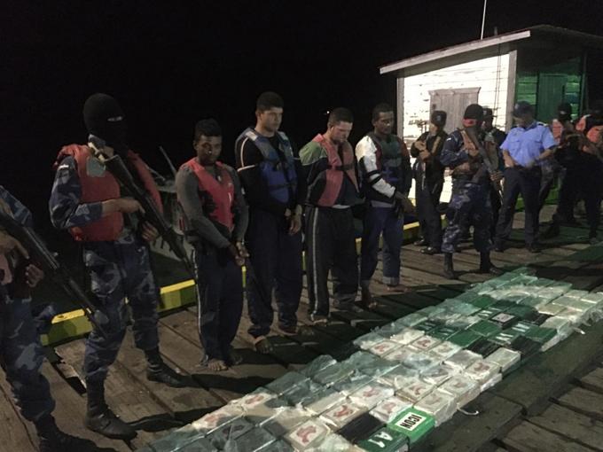 Fuerza Naval de Nicaragua asesta millonario golpe a narcotráfico
