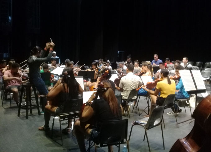Dedicarán concierto sinfónicoa José Martí y Beethoven